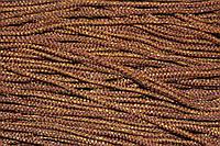 Шнур 2.5мм (100м) коричневый + золото , фото 1