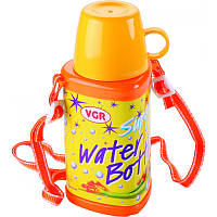 Бутылочка для воды VGR 350 мл с чашкой