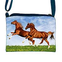 Детская сумочка для девочки с принтом Домашняя лошадь (М.Л.В.)
