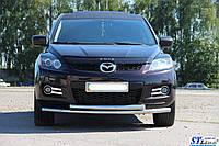 Кенгурятник  Mazda CX-7 (2006-) / ус двойной