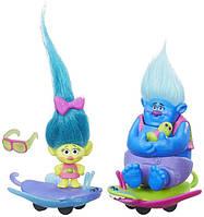 Trolls DreamWorks Critter Skitter Board Тролль на автомобиле Hasbro