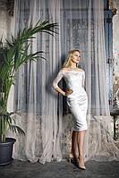 Прокат 6500 грн. Свадебное платье с рукавом три четверти «My Fair Lady» французская длина