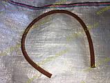 Шланг гальмівний рідини м зчеплення Ваз 2121, 21213 нива тайга БРТ червоний (L=700), фото 3