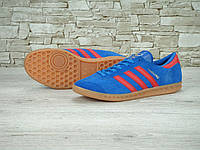 Кроссовки Adidas Hamburg Blue Red Gum, фото 1