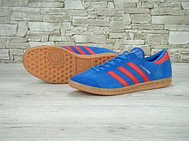 Кроссовки Adidas Hamburg Blue Red Gum