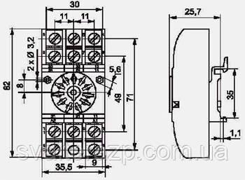 Колодка GZU11 Relpol - СВ Альтера Запорожье в Запорожье