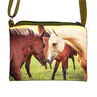 Детская сумочка для девочки с принтом Лошадь  (М.Л.В.)