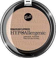Гипоалергенная  бронзирующая пудра  Hypo Allergenic  10 г Bell  02