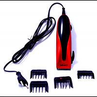 Gemei 1012, машинка для стрижки волос, 4 насадки, для профессионалов и домашнего использования.