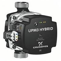 Насос энергоэффективный циркуляционный Grundfos  UPM3 HYBRID 25-70-180