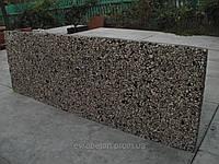 Плиты цокольные – несъемная опалубка (вымытый бетон)