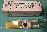 Светодиодная лампа капсульная димируемая типа G-9 LEDEX COB 3W 6400K