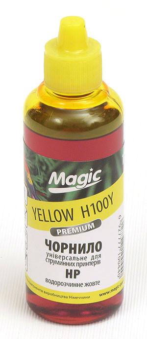 Чернила универсальные Magic HP Yellow 100 мл