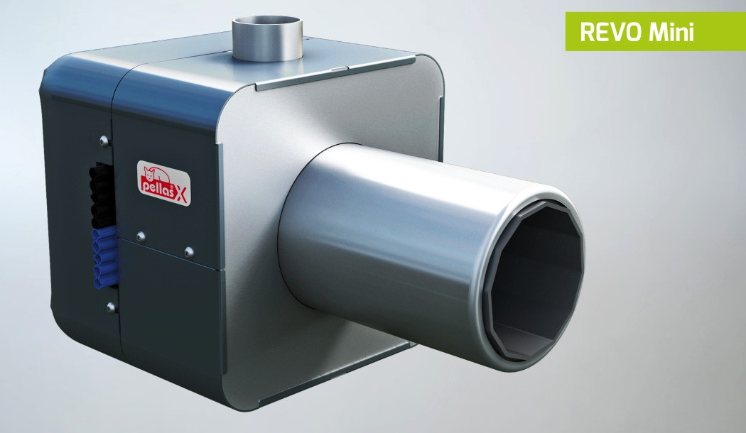 Пеллетная горелка Pellas Revo Mini 26 kWt
