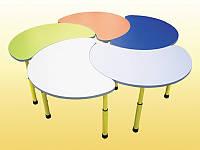 """Комплект столов """"Цветок"""", Стол регулируемый детский, фото 1"""
