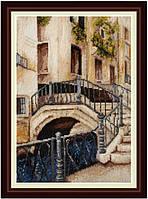 Набор для вышивания нитками Венецианский мостик VN-004
