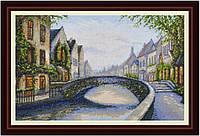Набор для вышивания нитками Бельгийский город VN-005