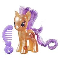 Игрушка фигурка пони глиттерная Претцель Литтл Пони (My Little Pony Explore Equestria Pretzel)