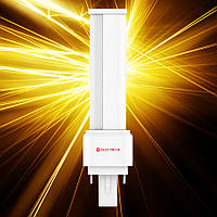 Светодиодная лампа ELECTRUM PL 7W LW-14 G24 4000К мат.ал./к.