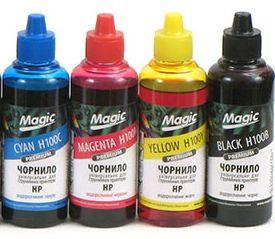 Комплект чернил Magic HP  4x100 мл