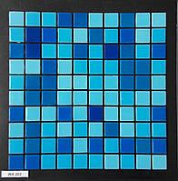 Мозаика для бассейна (микс) сине-голубая WA 203