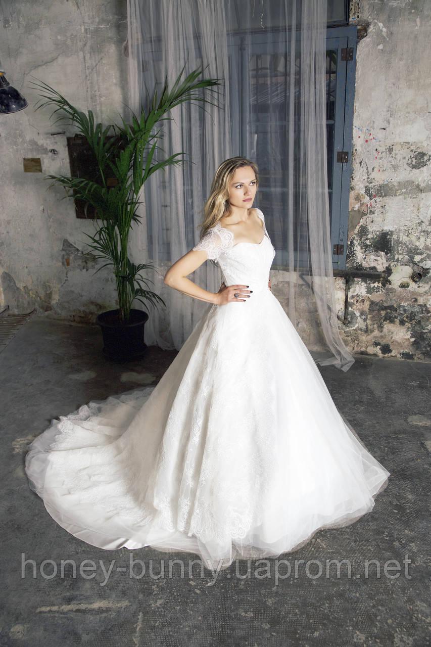 Прокат 13 520 грн. Свадебное платье с рукавами «Dream of me