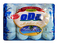 Мыло туалетное oDa Морской бриз с экстрактом ламинарии Экопак 4 х 70 г - 280 г.