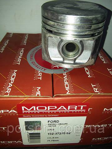 Поршневая  77,24 + 0.5  Escort  1,4  СVН  -- 92  Mopart  372702  без колец