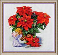 Набор для вышивания нитками Рождественский натюрморт VN-008
