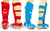 Защита голени с футами для единоборств ELAST 3958: 2 цвета, L/XL