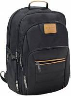 Рюкзак для города с карманом под ноутбук (Черный)