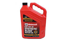 МОТОРНОЕ МАСЛО FORD MOTORCRAFT SYNTHETIC BLEND SAE 5W-30 (4,73Л)