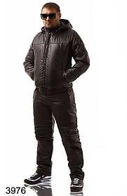 Мужской синтепоновый спортивный костюм (р. 48-54) арт. 3976