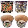 Форма для выпекания пасхальных куличей золото 375 г. , фото 2