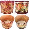 Форма для выпекания пасхальных куличей золото 375 г. , фото 5