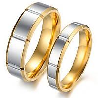 """Парные кольца для влюбленных """"Хранители Добра"""" нерж мед сталь"""