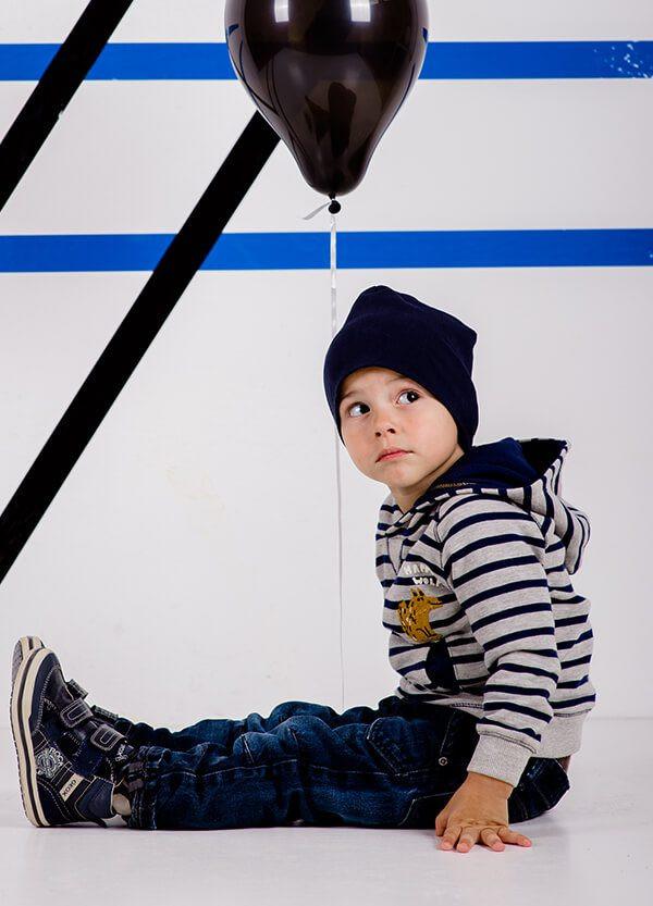 Детская шапка ТОМ для мальчиков оптом размер 48-50-52-