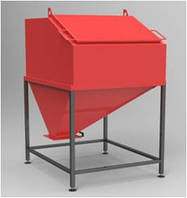 Буферна ємність для пелет Бункер БП-1,0, Буферная емкость для пеллет Бункер БП-1,0