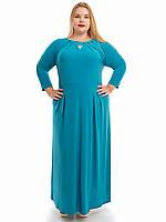 Длинное платье большого размера, фото 1