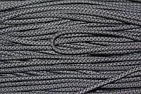 Шнур 6мм с наполнителем (100м) черный+т.серый, фото 1