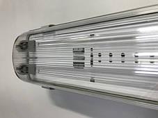 Линейный светильник под светодиодные лампы SL-20 2х10W Т8 IP65 Код.58826, фото 2