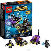 Конструктор Lego Super Heroes Бэтмен против Женщины-кошки 76061