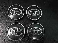 Toyota Yaris 2012+ Колпачки в титановые диски V2 55мм внутренний диаметр