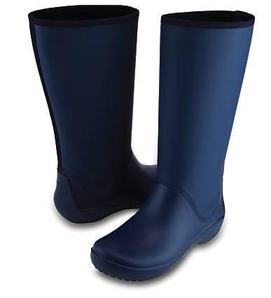 971899bb Сапоги женские Крокс Crocs Women's Rainfloe Tall Boot - Магазинчик в Киеве