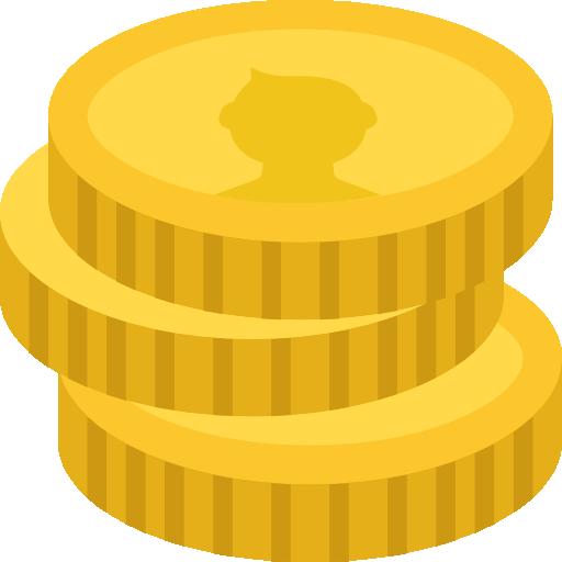 монетки деньги иконка