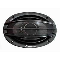 Автомобильная акустика колонки Pioneer TS-A6974S 6x9 овалы (500W) 3х полосные
