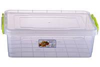 Контейнер пищевой Al-plastik Elit (1,8 л, с ручками)