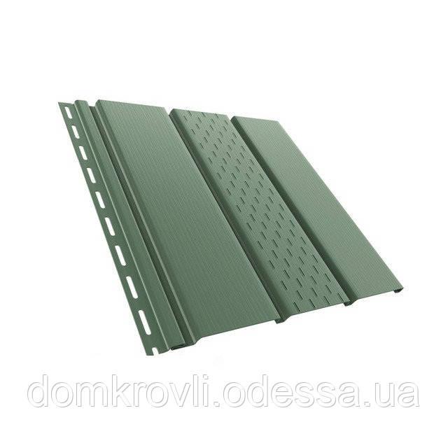 Софит для подшивки карниза Bryza зеленый 4м