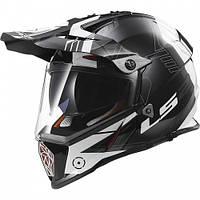Эндуро шлем LS2 MX436 Pioneer TRIGGER Titanium