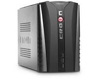 Джерело безперебійного живлення CROWN CMU-USB1200VA (1200VA/720W, AVR 145-280V, 2*12V/9AH, USB)